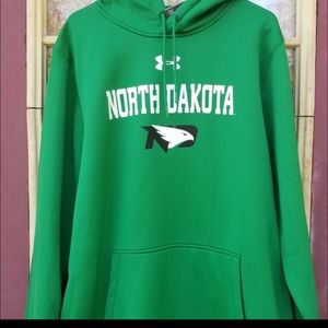 NWT Men's Under Armour Hoodie size XL North Dakota